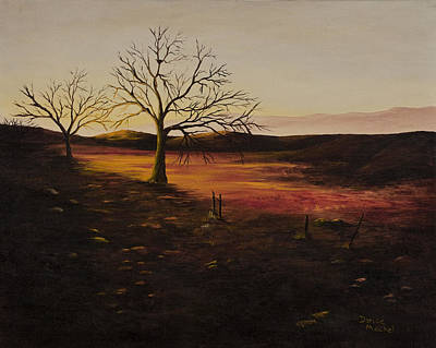 Painting - Old Humboldt Rd. Sunset by Darice Machel McGuire