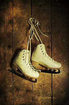Photograph - Old Ice Skates by Ethiriel  Photography