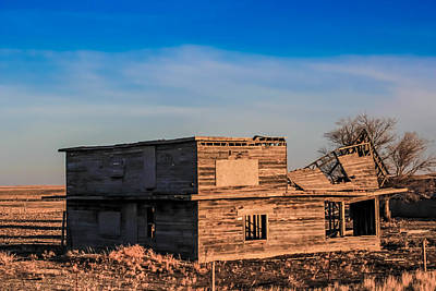 Photograph - Old In Wyoming by Christy Patino