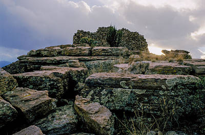 Photograph - Old Indian Ruins by Matthew Pace