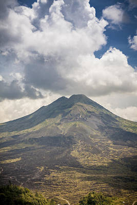 Landscape Photograph - Old Indonesian Volcano by Modern Art Prints