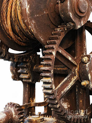 Pinion Photograph - Old Industry by Sinisa Botas