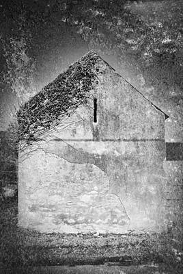 Photograph - Old Irish Barn by David Davies