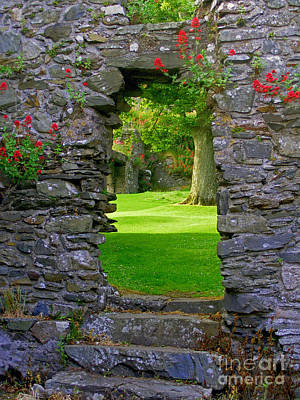 Photograph - Old Irish Castle by Nina Ficur Feenan