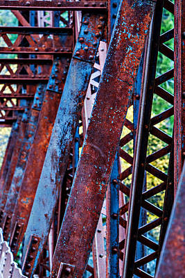 Photograph - Old Iron by Mary Jo Allen
