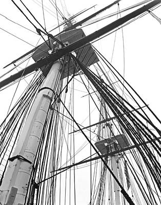 Photograph - Old Ironsides 1007 by Jeff Stallard