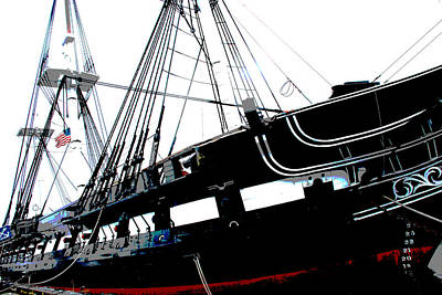 Photograph - Old Ironsides by Charlie and Norma Brock