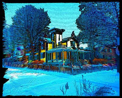 Digital Art - Old Irving House by Zac AlleyWalker Lowing