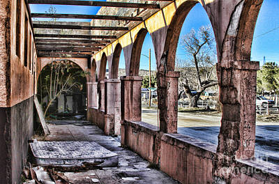 Photograph - Old Jacumba Hot Springs Arches By Diana Sainz by Diana Raquel Sainz