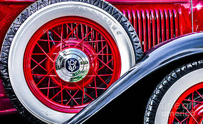 Photograph - Old Jag by Michael Arend