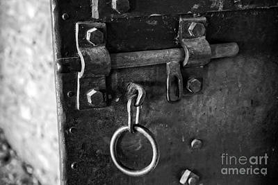 Photograph - Old Jail Door by Ron Chilston