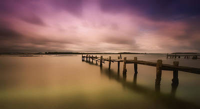 Photograph - Old Jetty 01 by Kevin Chippindall