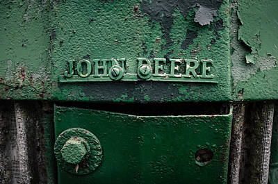 Photograph - John Deere Green by Andy Crawford