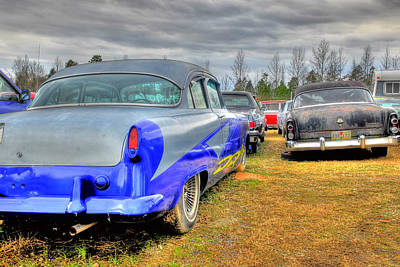 Photograph - Old Junked Car by Willie Harper