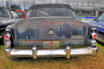 Photograph - Old Junked Dodge Coronet by Willie Harper