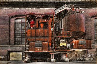 Photograph - Old Kansas City Factory Building  by Liane Wright
