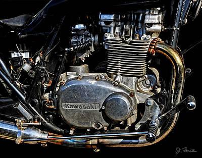 Photograph - Old Kawasaki by Joe Bonita