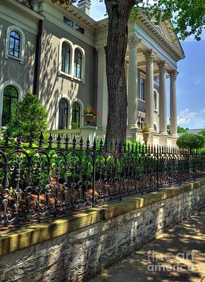Covington Photograph - Old Kentucky Homes 1 by Mel Steinhauer