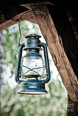 Old Kerosene Lantern. Art Print