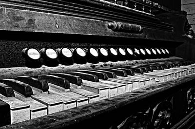 Photograph - Old Keyboard by Andy Crawford