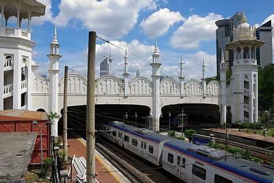 Photograph - Old Kuala Lumpur Train Station by Steven Richman