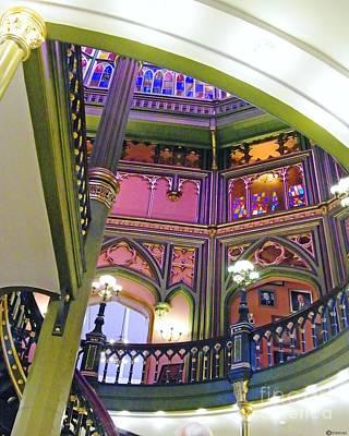 Photograph - Old La Capitol Interior by Lizi Beard-Ward