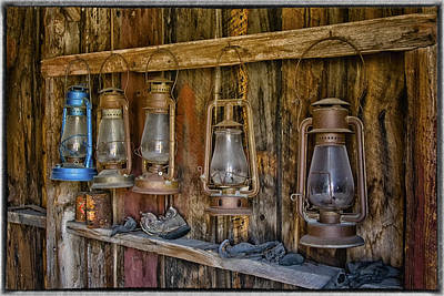 Photograph - Old Lanterns Bodie Ca Img 7311 by Greg Kluempers