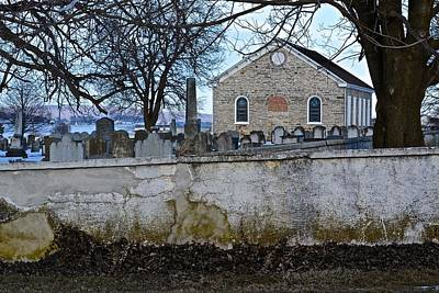 Photograph - Old Leacock Presbyterian Church And Cemetery by Tana Reiff