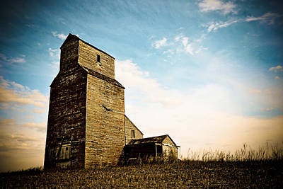 Photograph - Old Lepine Elevator by Gerald Murray Photography