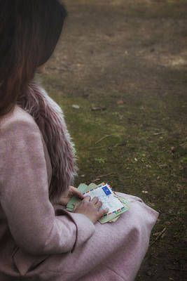 Thoughtful Photograph - Old Letters by Joana Kruse