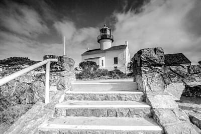 Art Print featuring the photograph Old Light House by Robert  Aycock