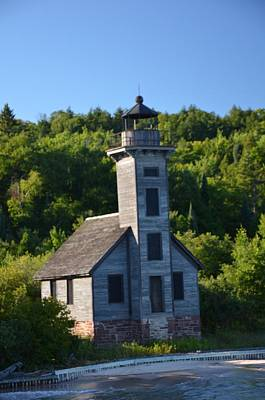 Photograph - Old Lighthouse by Brett Geyer