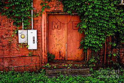 Photograph - Old Loading Dock Entrance by Paul Mashburn