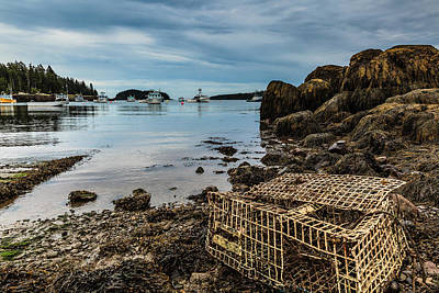 Photograph - Old Lobster Trap by Ben Graham