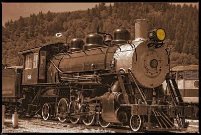 Photograph - Old Locomotive No.90 by Thom Zehrfeld