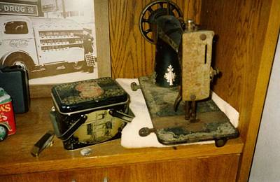 Kim Fearheiley Photography - Old Looking Sewing Machine and Box by Chris W Photography AKA Christian Wilson