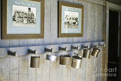 Photograph - Old Lunch Pails by Richard J Thompson