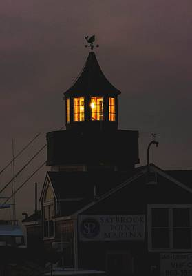 Photograph - Old Saybrook Marina by Amy Porter