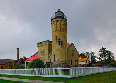 Photograph - Old Mackinac Point Lighthouse by John M Bailey