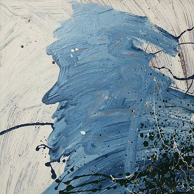 Painting - Old Man Blues  C1986 by Paul Ashby