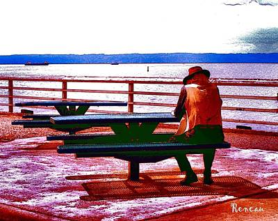 Photograph - Old Man By The Sea by Sadie Reneau