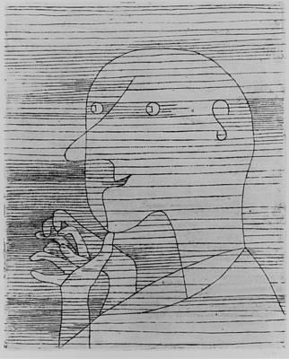 Paul Klee Painting - Old Man Counting by Paul Klee