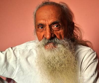 Photograph - Old Man by Jyoti Vats