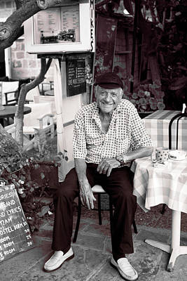 Photograph - Old Man Of Old Town by Lorraine Devon Wilke