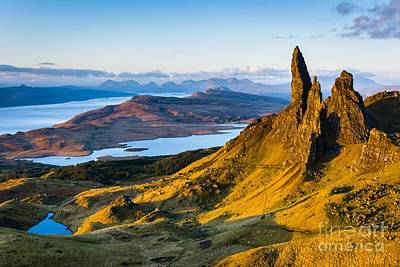 Old Man Of Storr At Sunrise Art Print
