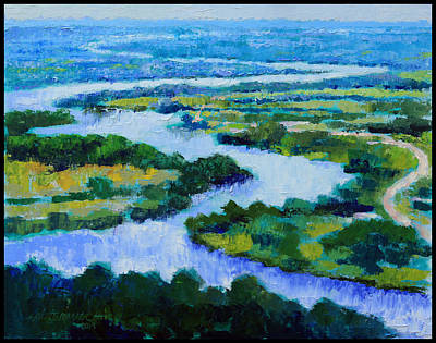 Old Man River Original by John Lautermilch