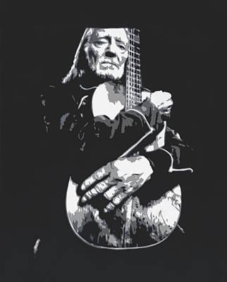 Old Man With Guitar  Original