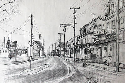Old Manahawkin Art Print