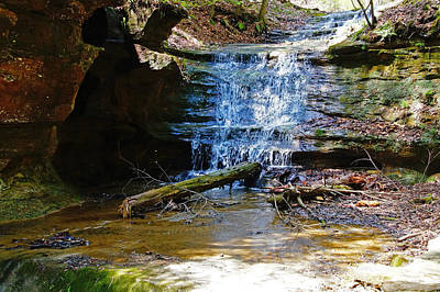 Photograph - Old Man's Cave by Mike Murdock