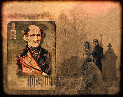 Digital Art - Old Man's Memoirs by Bellesouth Studio
